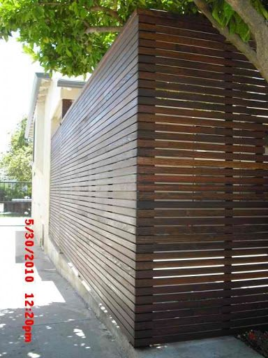 1x2 redwood fence pinterest barda perimetral valla for Barda de madera para jardin