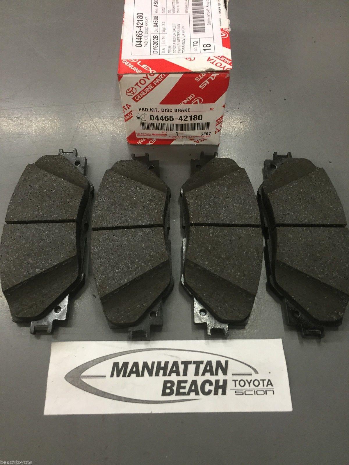 Awesome amazing 2006 2012 toyota rav4 front brake pads new genuine amazing 2006 2012 toyota rav4 front brake pads new genuine toyota oem 04465 42180 20172018 fandeluxe Choice Image