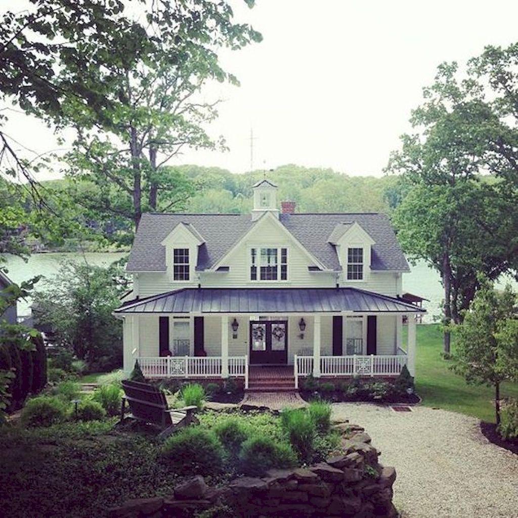 House Gorgeous 65 Beautiful Lake House