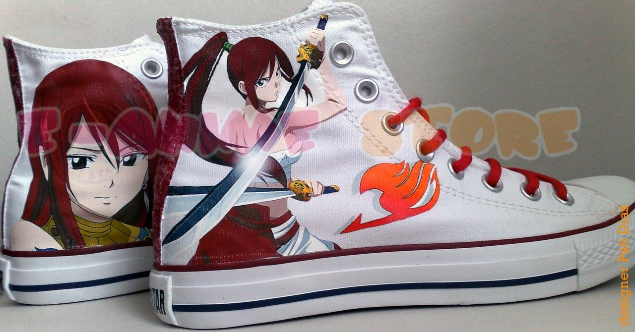 fairy tail converses - Google Search