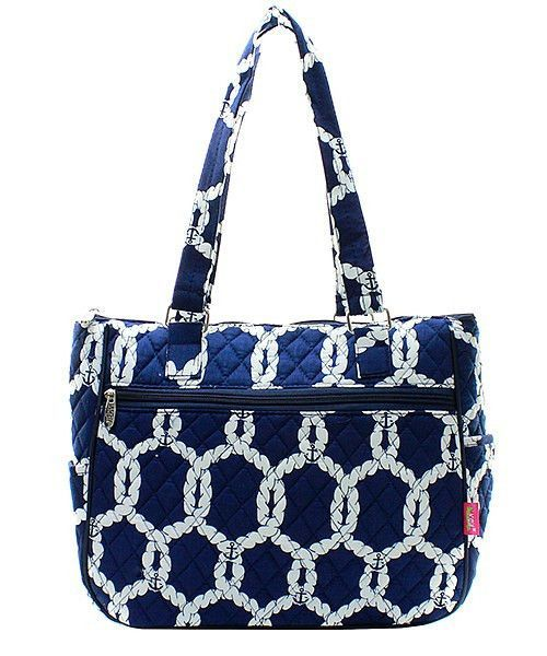 Nautical Rope Navy Quilted Handbag Purse | Products | Pinterest ... : navy quilted handbag - Adamdwight.com