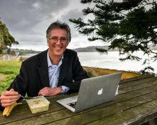 Rich kids are emotionally neglected': lunch with Steve Biddulph