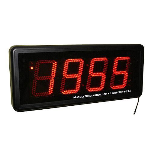 Large digital stopwatch timer garage gym online clock amazon wall