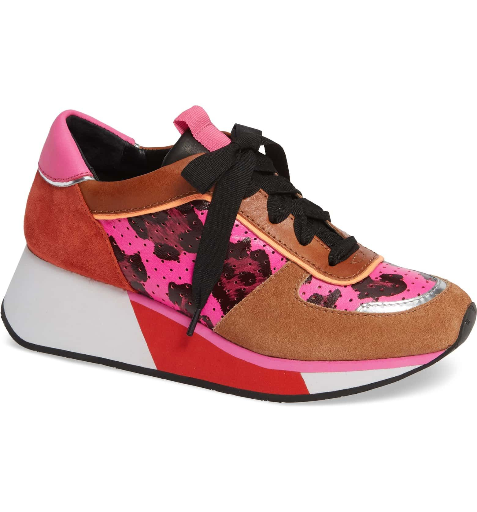 Donald Pliner Prea Colorblock Sneaker