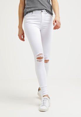 Bestill Dr.Denim LEXY - Jeans Skinny Fit - white for kr 499,00 (01.07.16) med gratis frakt på Zalando.no