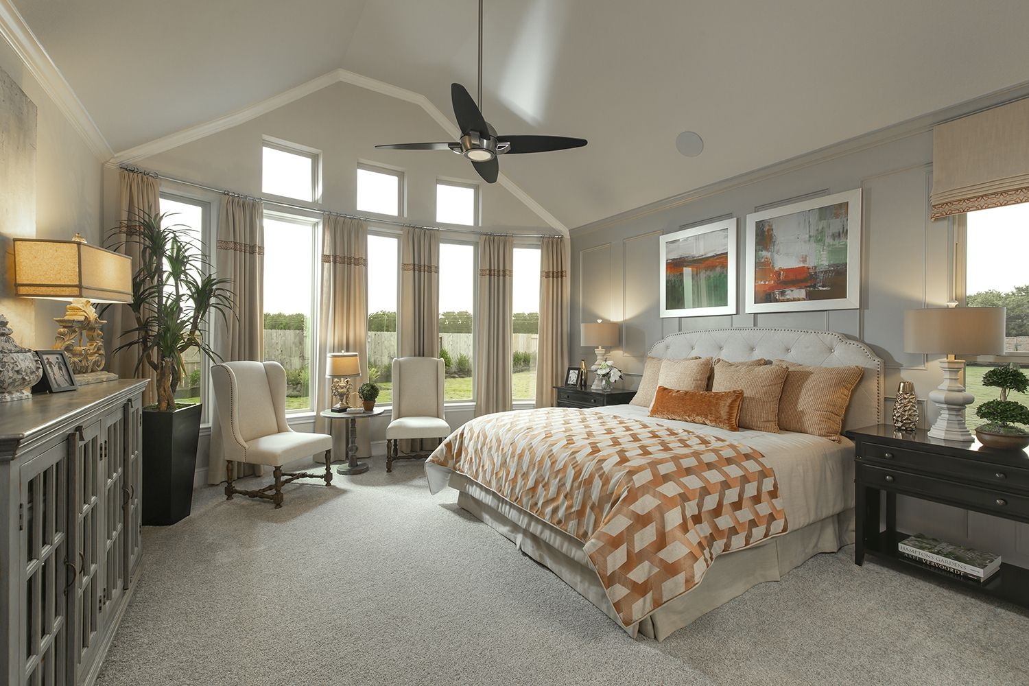 Primary Bedroom Home Model Homes New Home Designs
