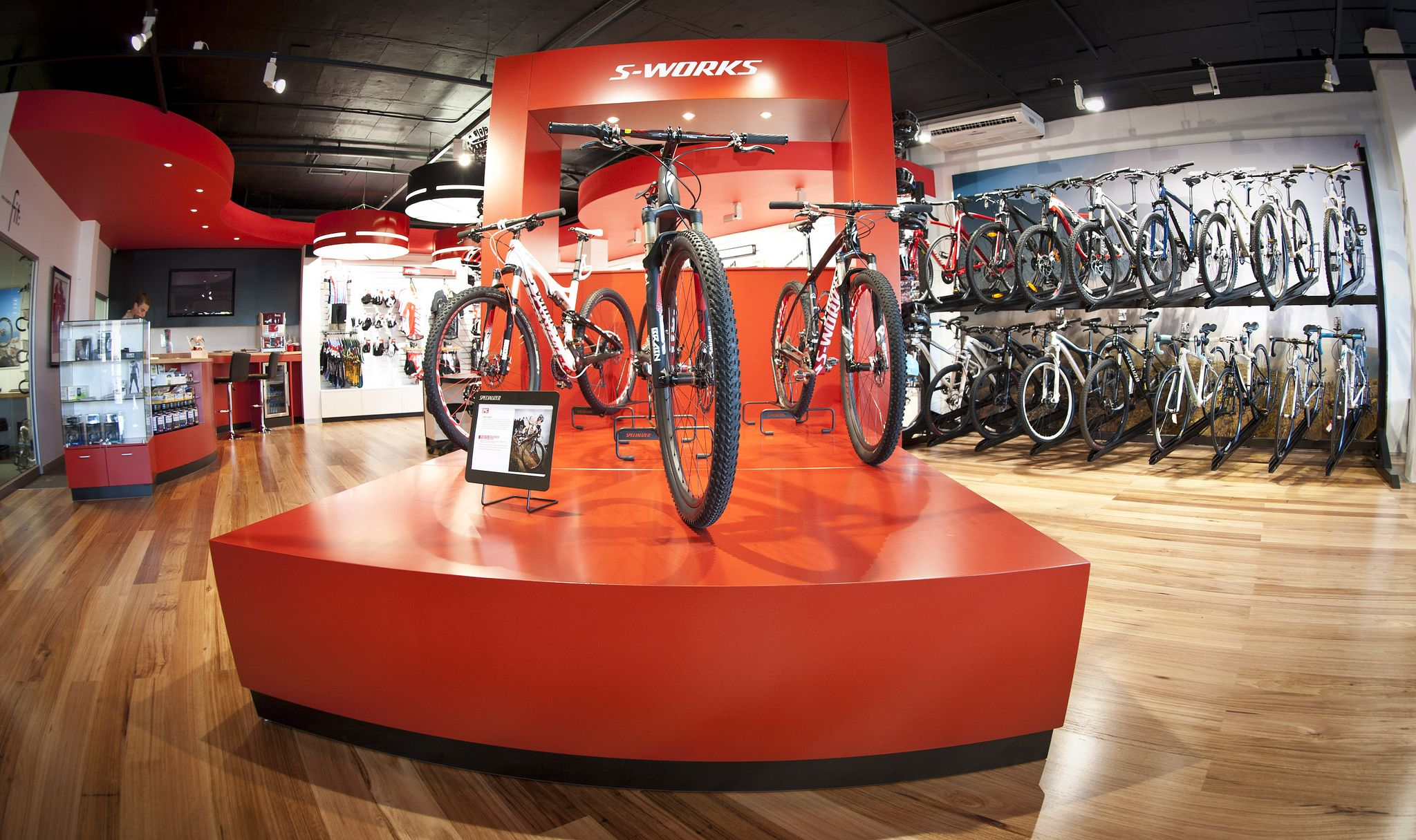 Specialized Concept Store Launch Helderberg Cycle World Somerset West South Africa Bike Store Bicycle Warehouse Concept Store