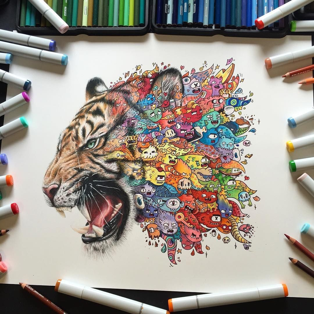 12 Amazing Copic Marker Artist You Should Follow On Instagram