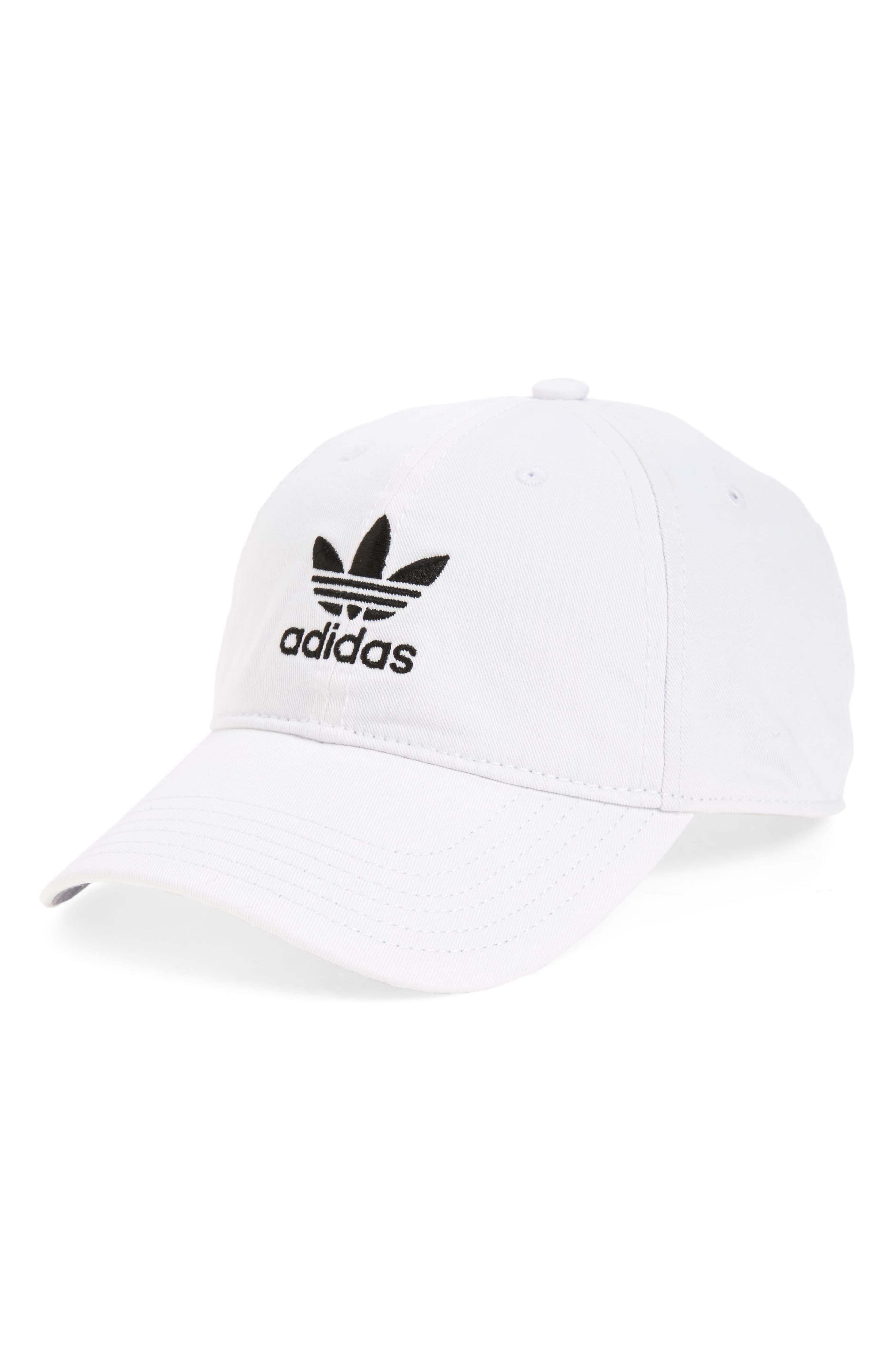 Adidas Originals Relaxed Baseball Cap Nordstrom In 2021 Hats For Men Adidas Cap Baseball Cap