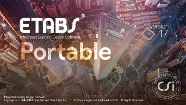 Csi ETABS 17 0 1 Portable   free download in 2019   Building
