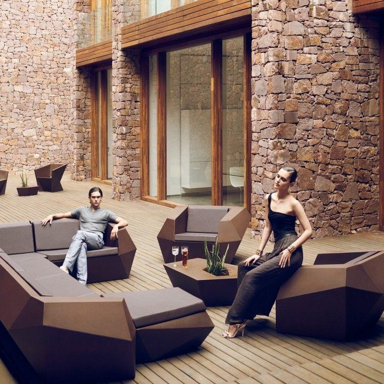 Sofá Modular Para Exteriores Faz Muebles Exterior Diseño