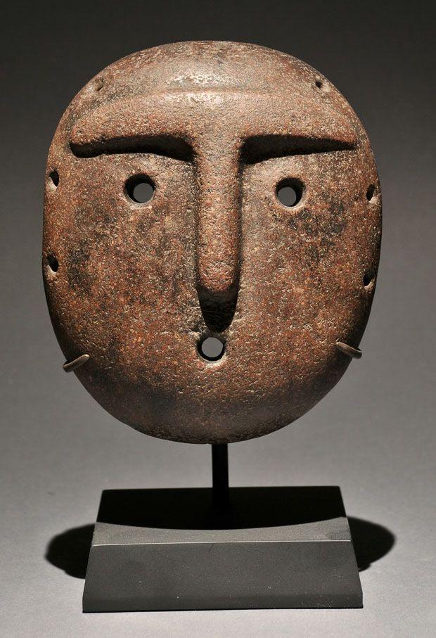 Alamito Culture - N. Argentina Date: -400-950 Medium/Materials: Basalt Dimensions: 6 x 5 x 1.5 inches