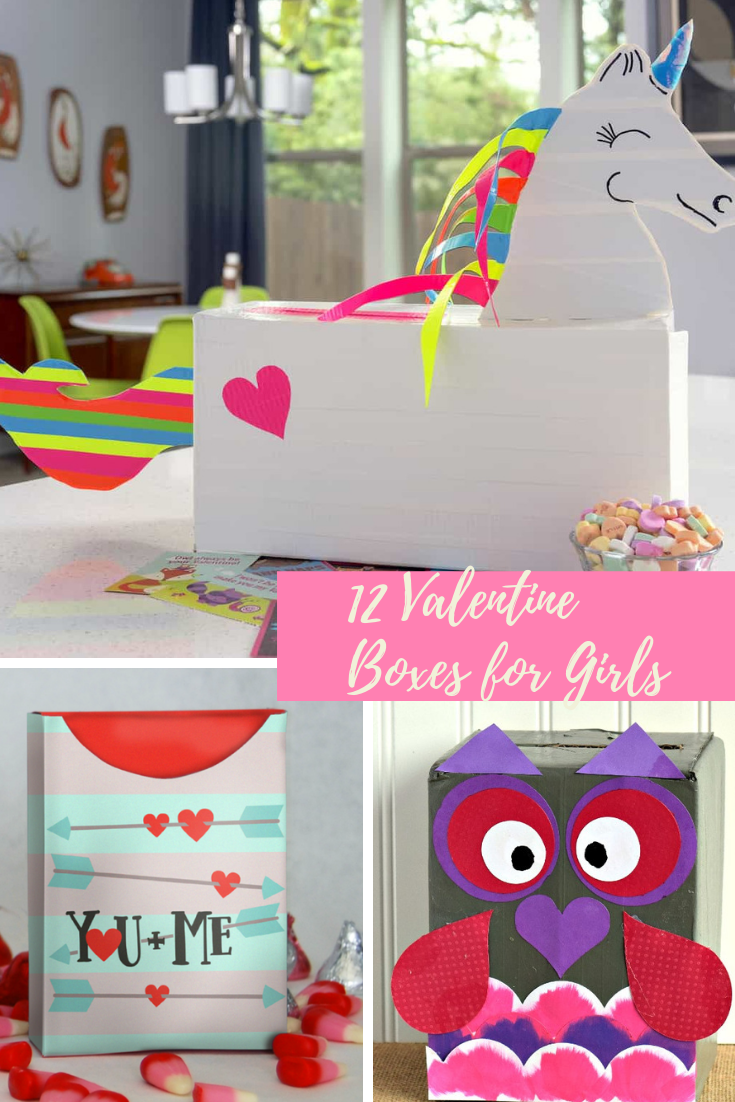 12 Valentine Boxes for Girls