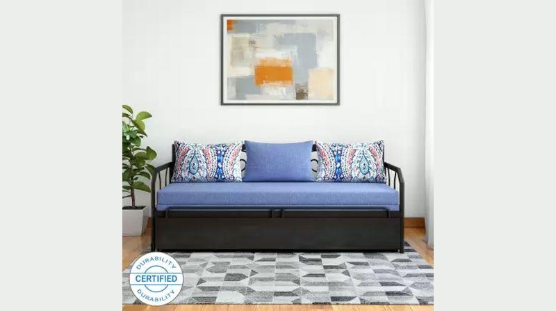 Buy Double Engineered Wood Metal Sofa Bed By Furniturekraft Mobilier De Salon Meuble Maison Decoration Maison