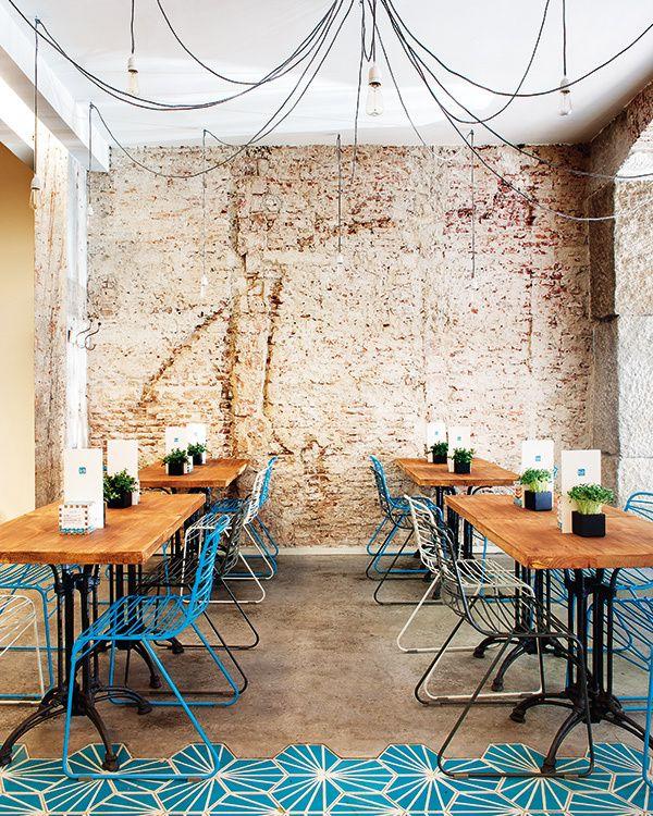 Fonty sea, café shabby chic | arquitectos Juan Riveiro y Jorge Baselga