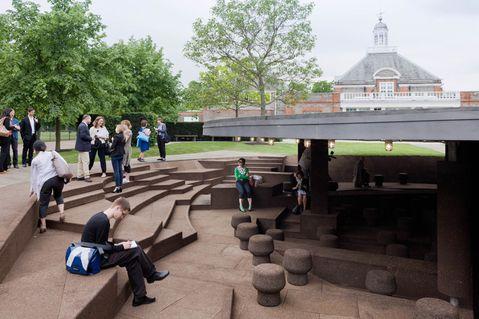 Diana: Herzog & de Meuron and Ai Weiwei Serpentine Pavilion Opens