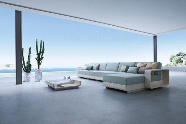 Mobili Italiani Di Lusso : Divano rattan design fine living inspirations and atmosphere of