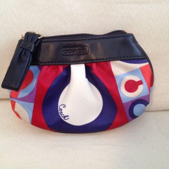 Coach Coin Purse Authentic Coach coin purse. Good condition. Coach Bags