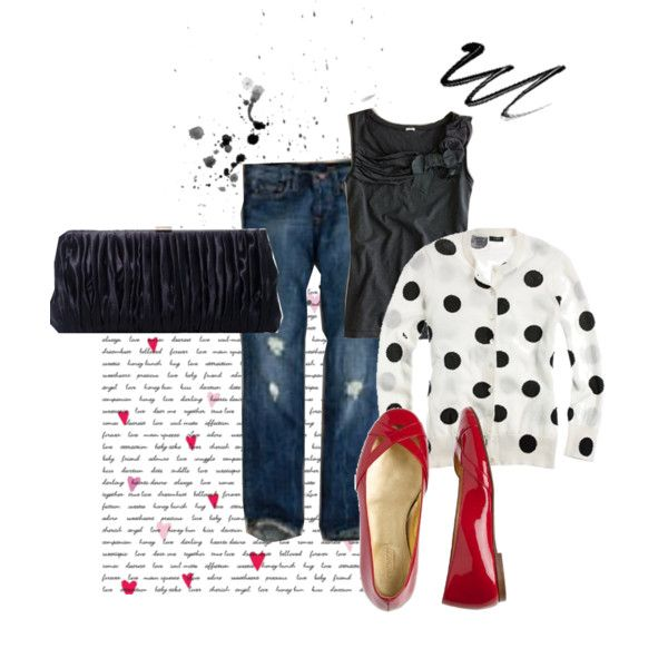 """""""<3 Red Shoes"""" by tiffanyrose on Polyvore"""