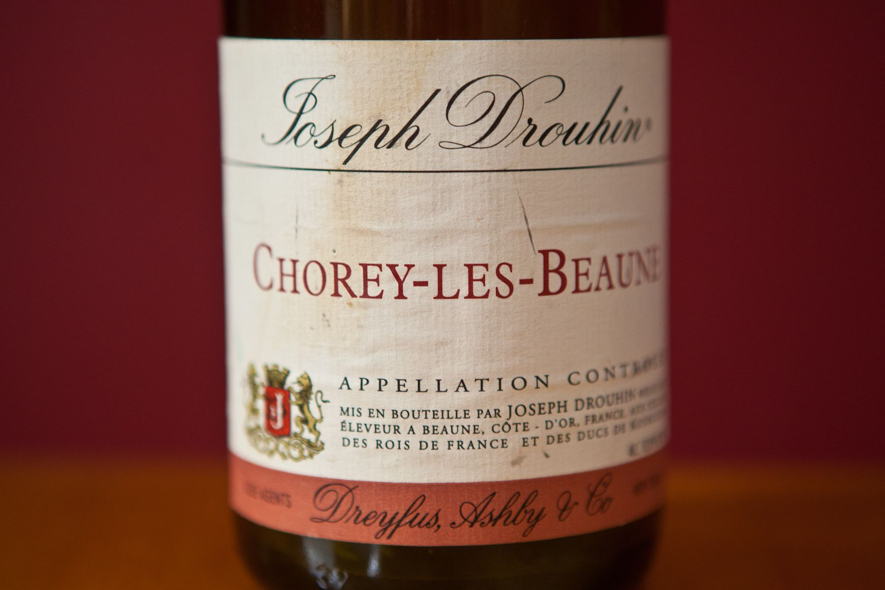 Joseph Drouhin Chorey Les Beaunne Organic Wine Wine Bottle Wines