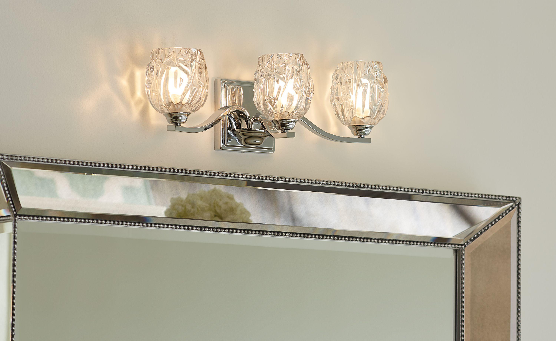 Kalli by Feiss - #Bathrooml   Bath Lighting Ideas   Pinterest