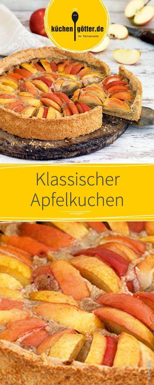 Veganer Apfelkuchen Rezept Saftiger Apfelkuchen Pudding Und