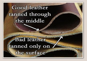 Saddleback Leather explains four levels of Leather Types   Quality Top  Grain bee4d44be3122
