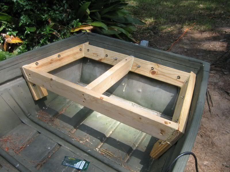Image result for Jon Boat Deck Ideas | Jon boats | Pinterest | John ...