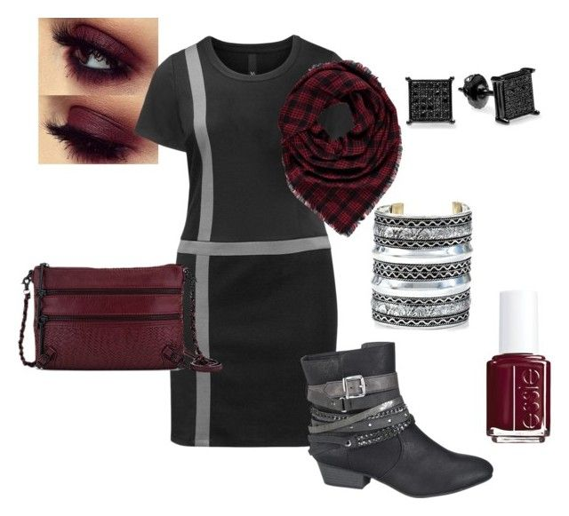 Pinot Grungeo by devoncaron on Polyvore featuring Manon Baptiste, maurices, Elliott Lucca, Forever 21 and Essie