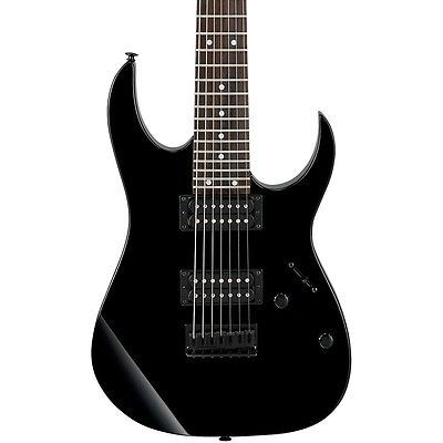 #Guitars #Musical Ibanez GRG7221 7-string Electric Guitar Black #Christmas #Gifts