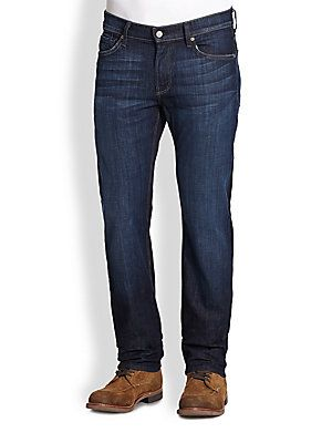 7 For All Mankind Slimmy Slim-Straight Leg Jeans