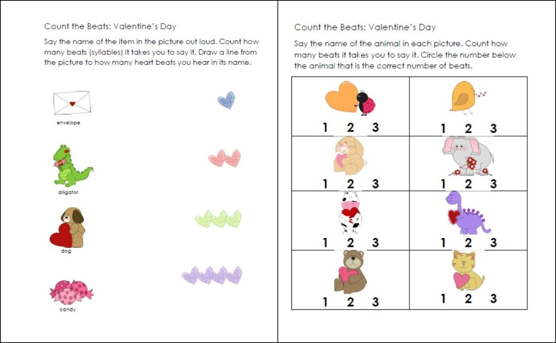 Fun Kindergarten Syllable Activities Including A Free