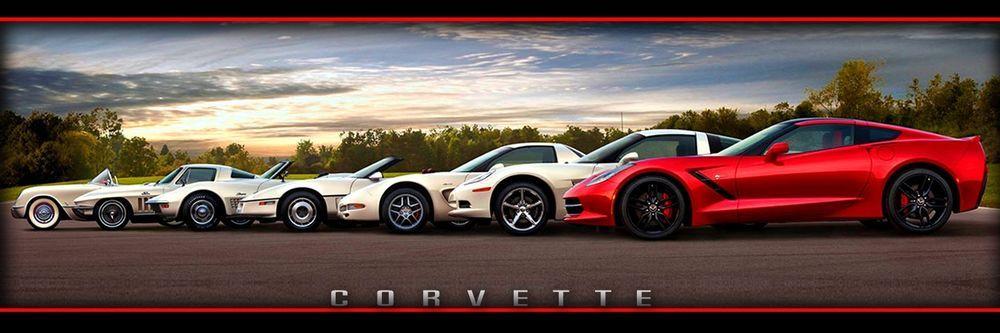 Chevrolet Chevy Corvette Z06 Stingray Generations Garage Shop