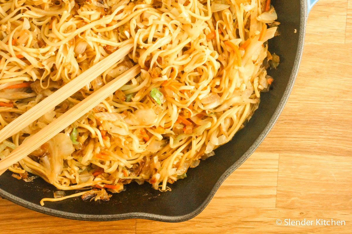 Healthier Copy Cat Panda Express Chow Mein