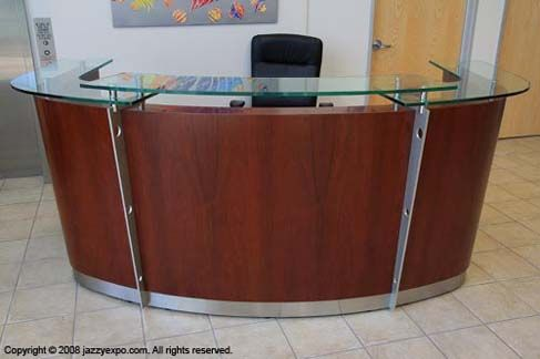Reception Desk | The MANHATTAN Reception Desk Collection | Office ...
