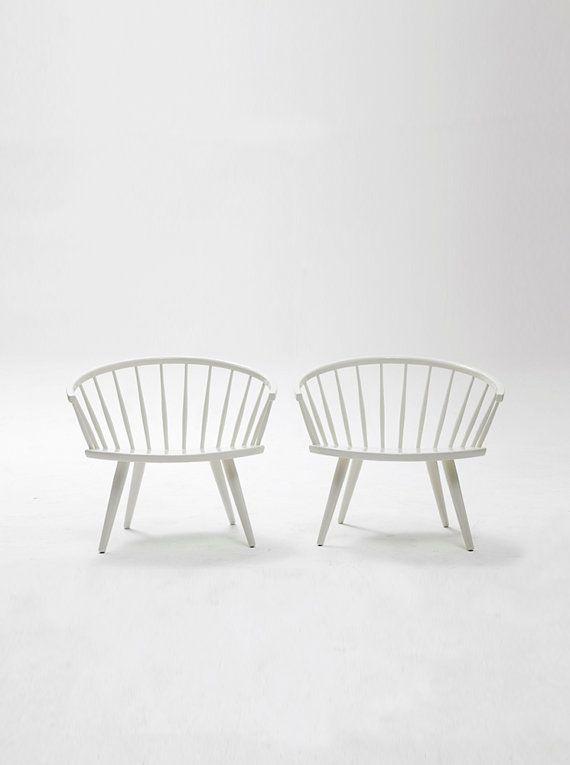 A pair of mid-century Arka Chairs by Yngve Ekström. | Furniture ...