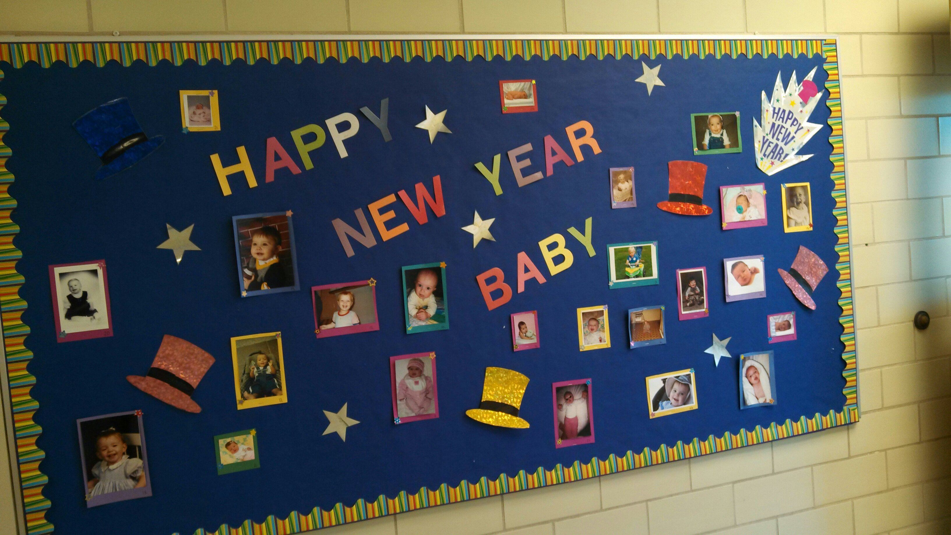 Great Happy New Year Board. Have students and teachers ...