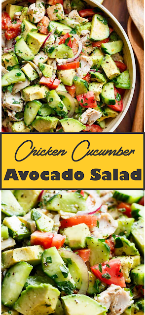 Photo of HOW TO MAKE CHICKEN SALAD WITH FRESH AVOCADO