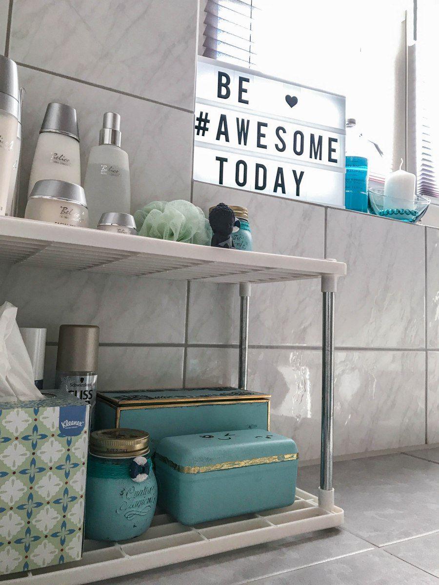 DIY Badezimmer Aufbewahrung | meine DIY\'s / Bienchen | Badezimmer ...