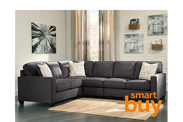 Best Charcoal Alenya 3 Piece Sectional View 1 Sofa Design 640 x 480