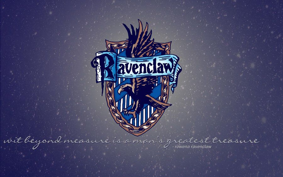Wit Beyond Measure Ravenclaw Aesthetic Harry Potter Wallpaper Ravenclaw