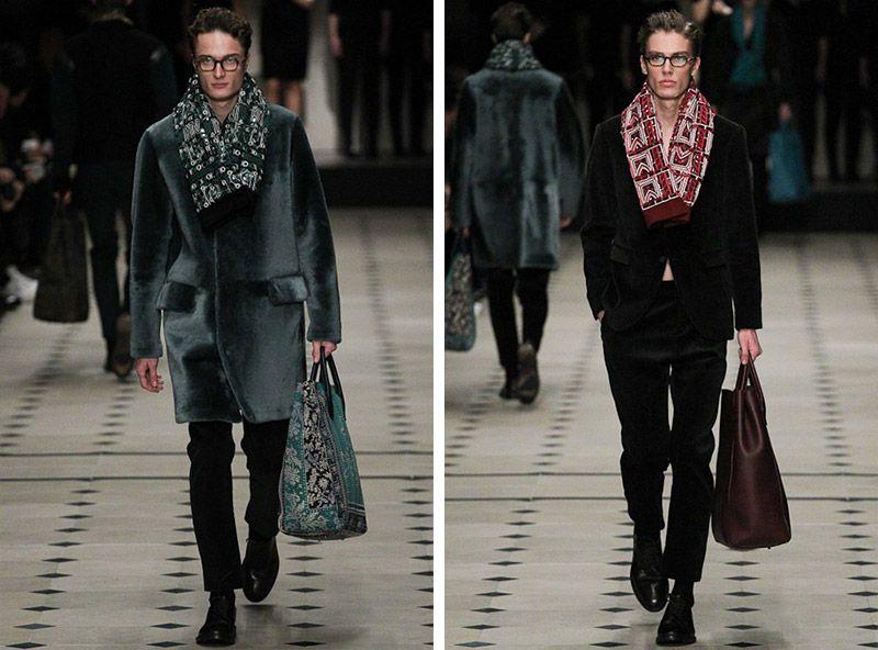 #Menswear #Trends Burberry Prorsum  Fall Winter 2015 Otoño Invierno #Tendencias #Moda Hombre   F.Y.