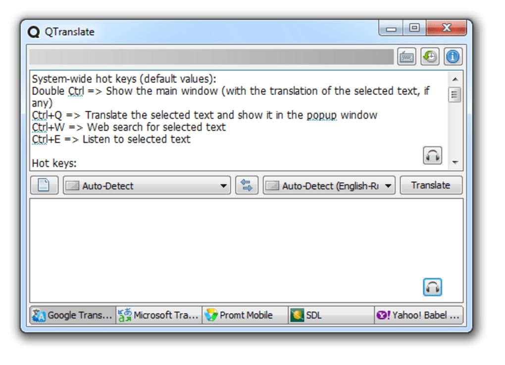 تحميل برنامج qtranslate للكمبيوتر
