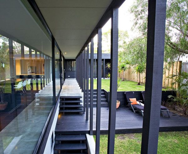Modern Waterfront Home   Timber Design In Australia
