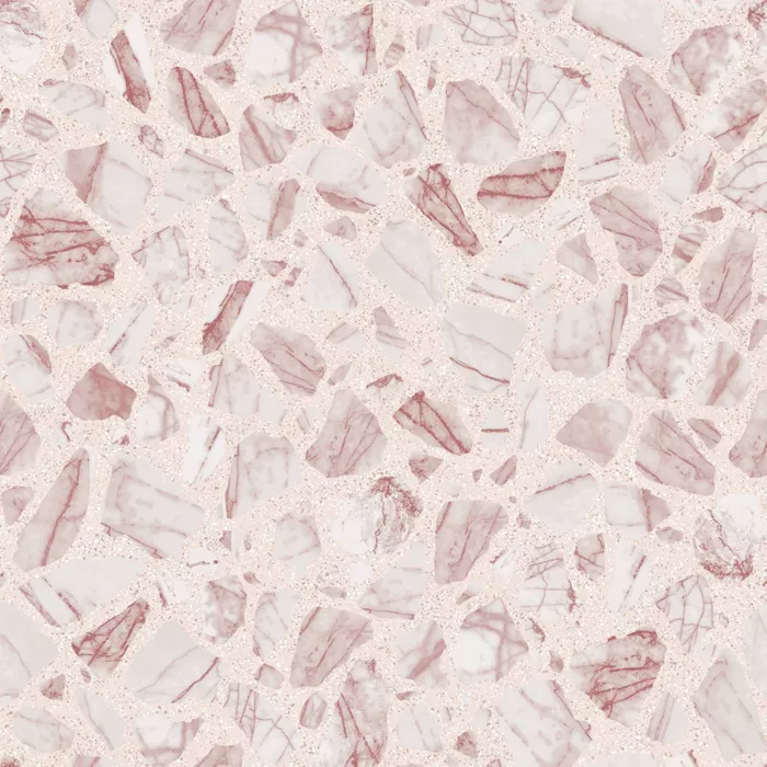 Tempaper Speckled Terrazzo Rose Self Adhesive Removable