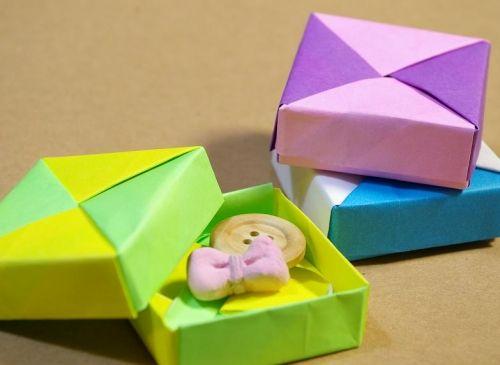 クリスマス 折り紙 折り紙 入れ物 : pt.pinterest.com