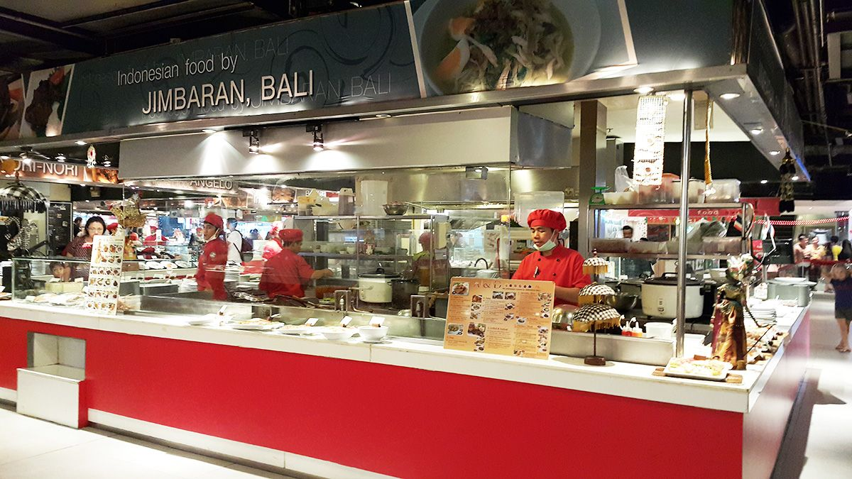 Jimbaran Bali Halal Indonesian Cuisine Mbk Mall Bangkok Halal Living Thailand Jimbaran Bali Jimbaran Indonesian Cuisine
