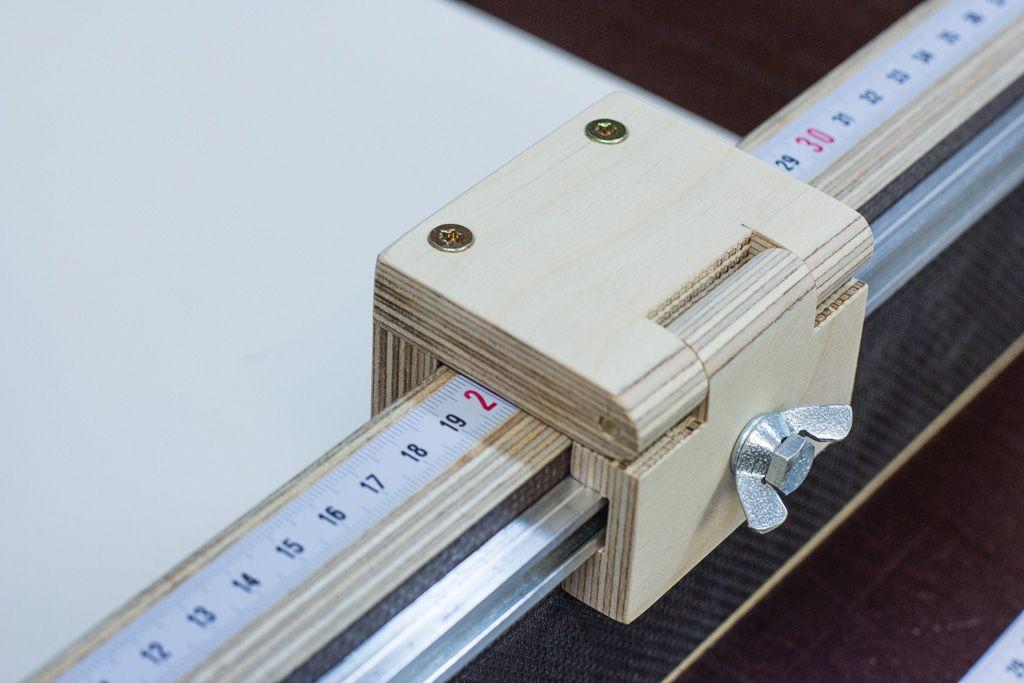 schiebeschlitten kreiss ge selber bauen diy tischkreiss gen schiebeschlitten crosscut sled f r. Black Bedroom Furniture Sets. Home Design Ideas