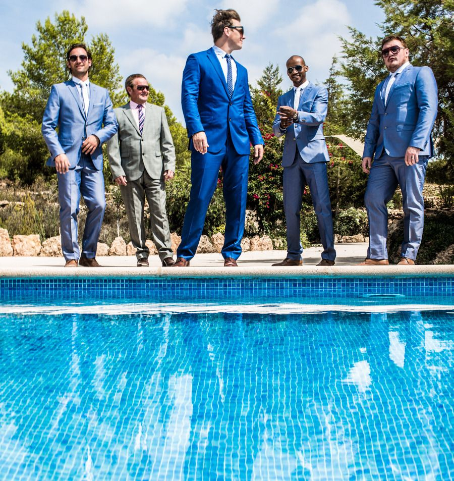 Travel Inspired Destination Wedding on Ibiza from Fusion Photography ...
