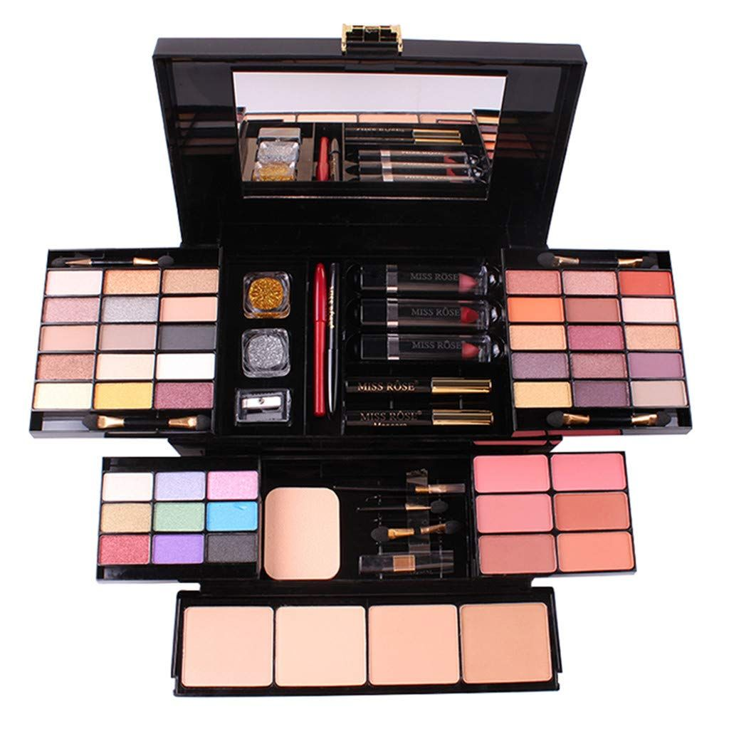 Phantomsky Professional Eyeshadow Palette All In One Cosmetic Makeup Gift Set Including 39 Matte Shimmer Highly Pigmente Makeup Set Makeup Kit Makeup Gift Sets